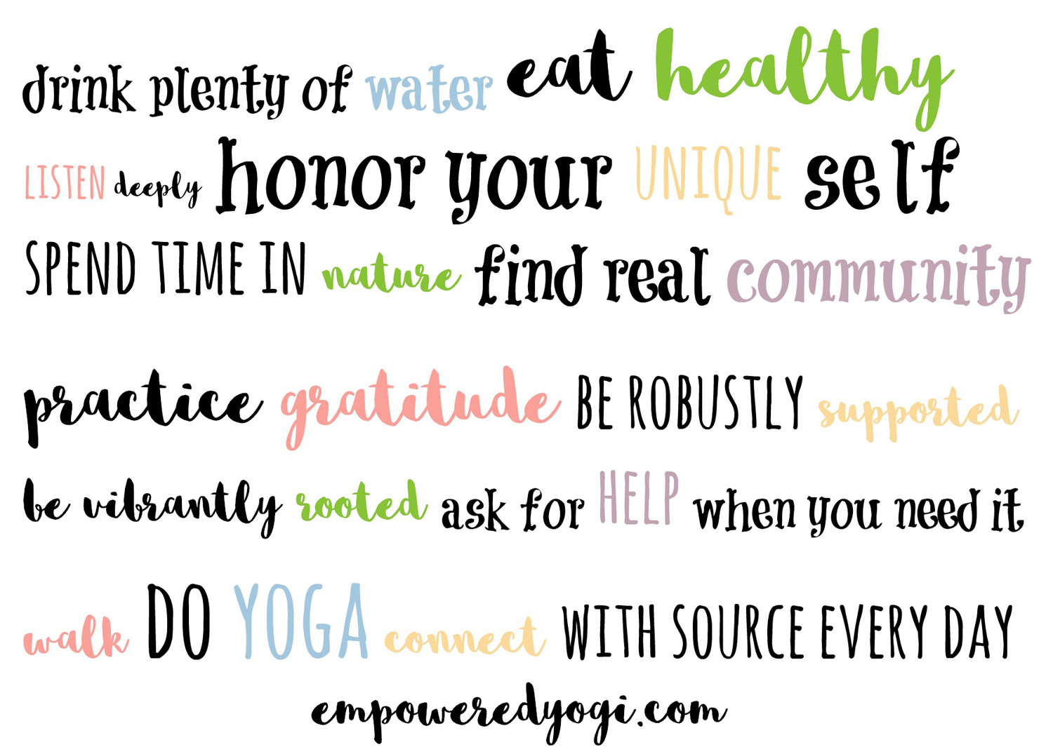 Namaste and Welcome | Empowered Yogi